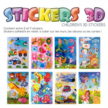 Grand Stickers 3D