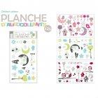Planche 25 Stickers muraux