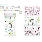 Planche 25 Stickers muraux Moutons