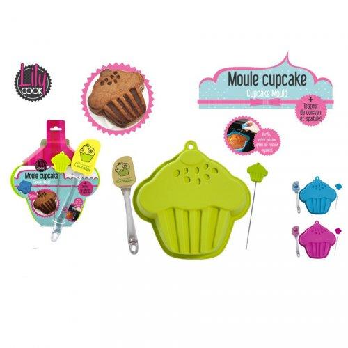 Moule forme Cupcake avec accessoires