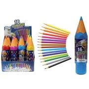 Crayon trousse avec 16 crayons