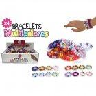 4 Bracelets multicolores