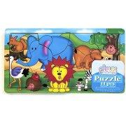 Puzzle 11 pièces Jungle