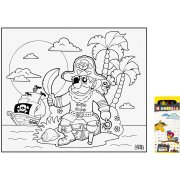 Nappe � Colorier Pirate