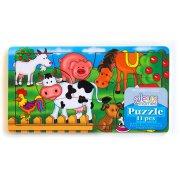 Puzzle 11 pièces Animaux de la ferme