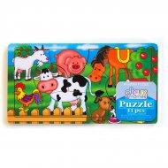 Puzzle 11 pi�ces Animaux de la ferme