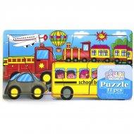 Puzzle 11 pi�ces V�hicules de Transport