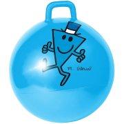Ballon Sauteur Monsieur Madame Bleu