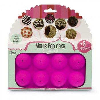 Kit Moule 8 Cakes Pop avec batonnets