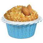 20 Moules bleus Cuisson Cupcakes