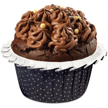 20 Moules noirs Cuisson Cupcakes