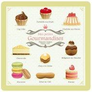 8 Petites Assiettes Gourmandises Vert pistache
