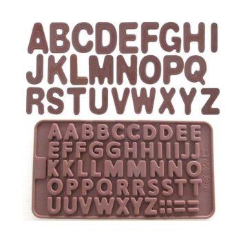 Moule modelage Lettres