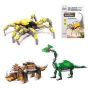 Blocs de Construction Dinosaure Le Triceratops