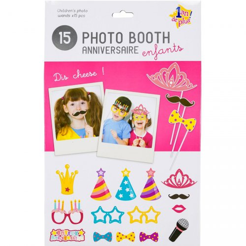 Photo Booth Anniversaire Princesse