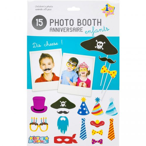 Photo Booth Anniversaire Pirate