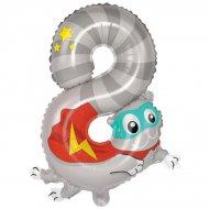 Ballon Animal Chiffre 8 (58 cm)