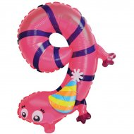 Ballon Animal Chiffre 9 (57 cm)