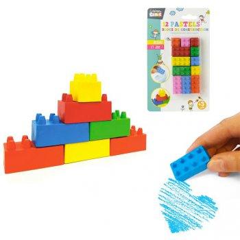 12 Pastels Blocs de Construction