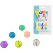 6 Petites Balles Rebondissantes Etoiles (2,5 cm)