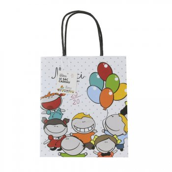 Sac Cadeaux Merci Maîtresse Ballons (21 cm)