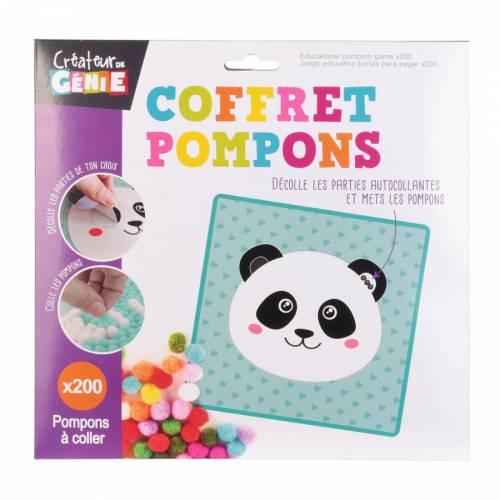 Coffret Pompons Panda