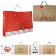 1 Grand Sac Cadeau Noël (70 cm)