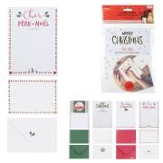 2 Lettres Père Noël + 2 Enveloppes