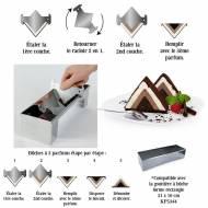 Racloir Special Bûche Triangulaire