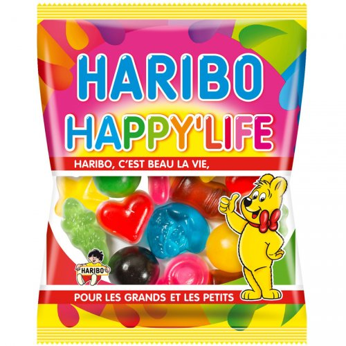 Happy Life Haribo - Mini sachet 40g