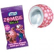 1 Bubble-gum Zombie Balls