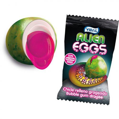 1 Bubble-gum Alien Eggs
