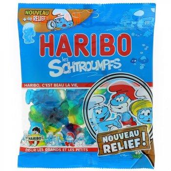 Schtroumpfs Haribo Relief - Sachet 200g