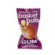 1 Bubble gum Basket Balls
