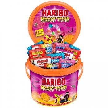 Seau de bonbons Halloween Haribo - 800g