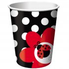 8 Gobelets Coccinelle