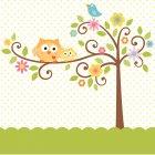 Nappe L'arbre du bonheur