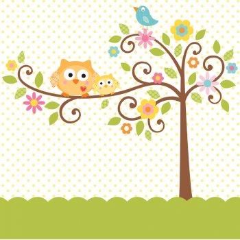 Nappe L arbre du bonheur