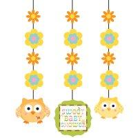 Contient : 1 x 3 Décorations à suspendre L'arbre du bonheur