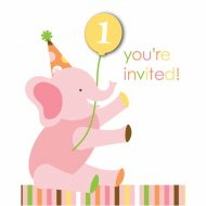 8 Invitations 1 an douceur