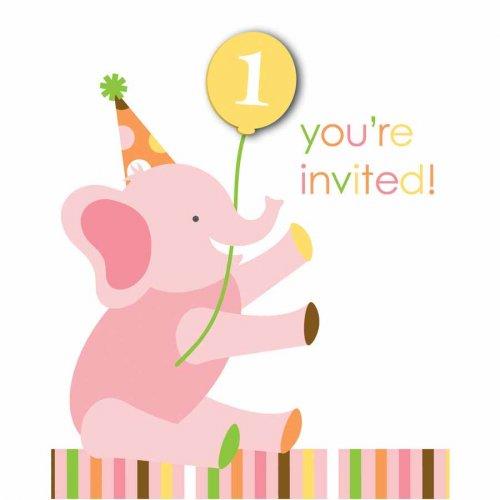 8 Invitations 1 an douceur