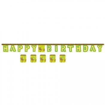 Guirlande Happy Birthday Ouistiti