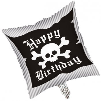 Ballon Mylar Pirate Happy Birthday