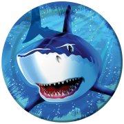 8 Assiettes Requin
