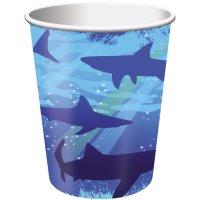 Contient : 1 x 8 Gobelets Requin