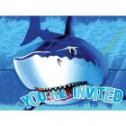 8 Invitations Requin