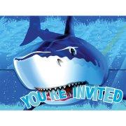 8 Invitations Requin