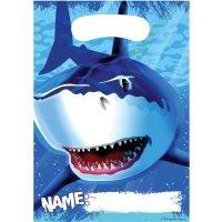 Contient : 1 x 8 Pochettes à cadeaux Requin
