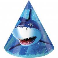 Contient : 1 x 8 Chapeaux Requin