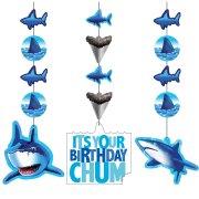3 D�corations � suspendre Requin